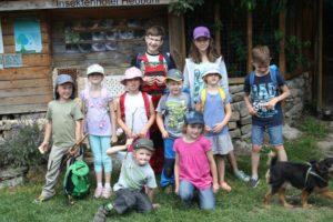 NAJU Ausflug in den Projektgarten Heubühl