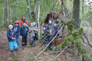 Die NAJU Gruppenstunde auf Walderlebnis-Tour.
